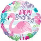 Happy Birthday Flamingo