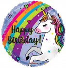 Bday Unicorn & Rainbow
