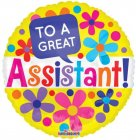 To A Great Assistant Flowers