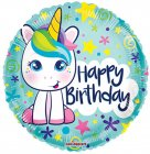 Bday Cute Unicorn Gelli