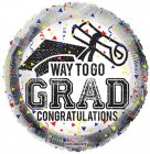 Way To Go Grad Confetti